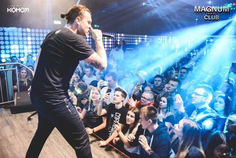 Znany polski raper, reprezentant częstochowskiej sceny hip-hopowej, wystąpił w Magnum Club w Wachowie w drugi dzień Świąt  Wielkanocnych. Niedzielna