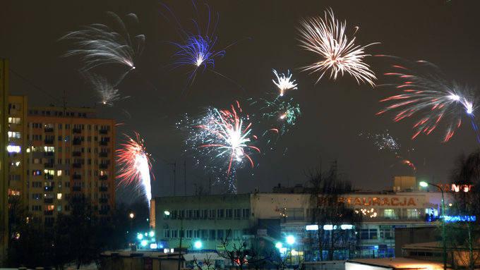 Tak witaliśmy Nowy Rok