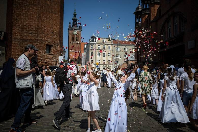Boże Ciało 2019. Procesja na ulicach Gdańska - 20 czerwca 2019
