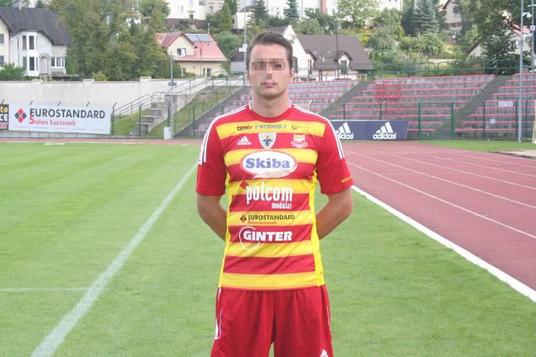 Zatrzymany piłkarz Michał M.