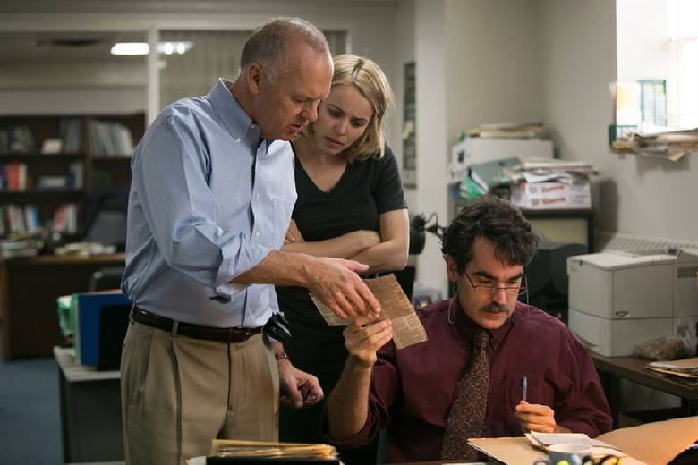 """""""Spotlight"""" Toma McCarthy'ego """"ukradł"""" Oscara dla najlepszego filmu """"Zjawie"""" - faworytowi 88. rozdania nagród Amerykańskiej Akademii (12 nominacji)."""