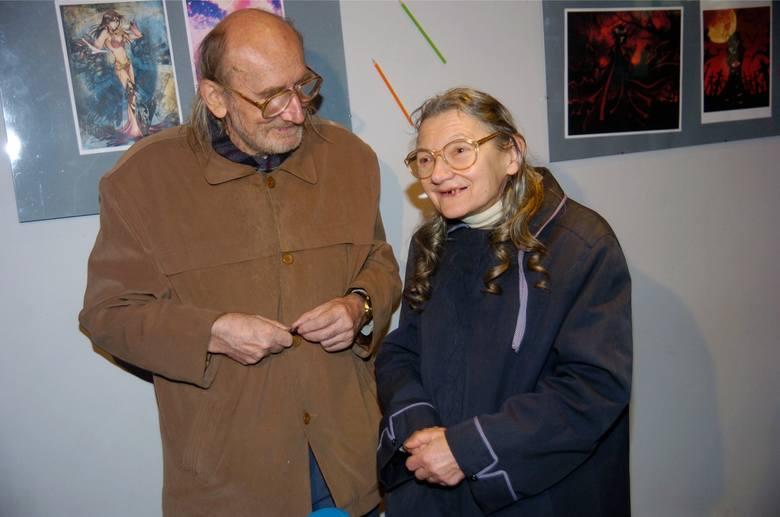 Nieżyjący już Bogdan Kalinowski i jego żona Maria.