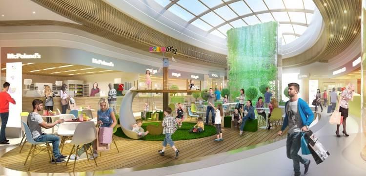 Wizualizacje Galerii Unia - jak ustaliliśmy, pod tą nazwą w ogłoszeniu firmy Colliers International kryje się Ikea