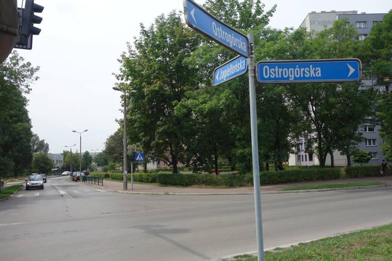 Skrzyżowanie Ostrogórskiej i Jagiellońskiej w Sosnowcu zostanie zastąpione rondem