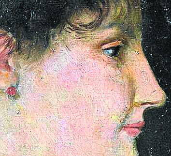 Oto i portret. Bytomianin przywiózł go z Włoch. Zostawił dzieło wnuczkom, przed śmiercią zdradził im, że to Manet