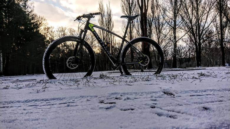 A kto powiedział, że rower jest modny wyłącznie w okresie letnim. Zimą również da się jeździć i wcale nie trzeba mieć do tego specjalnych opon. Wręcz