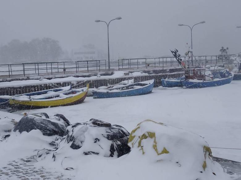 Zima na Półwyspie Helskim, luty 2017