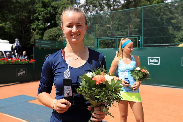 Barbora Krejcikova pierwszą tenisistką, która dwa razy wygrała turniej tenisowy Bella Cup w Toruniu. Czeszka edycję 2018 przeszła jak burza, tylko w