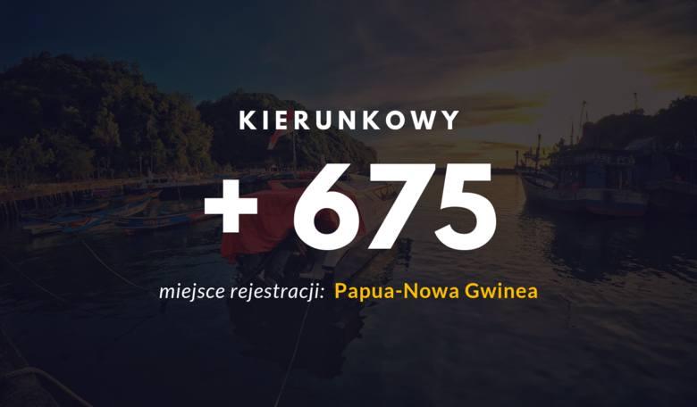 Numer łatwo pomylić z kierunkowym Piły - 67