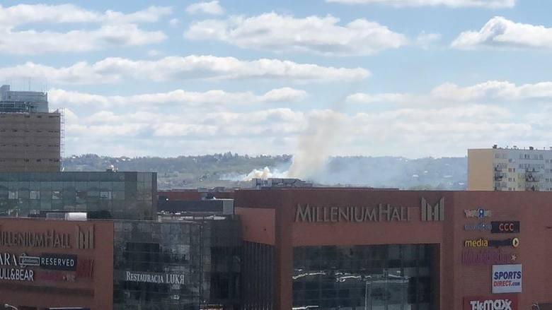 Zdjęcia pożaru nadesłane przez Czytelników.