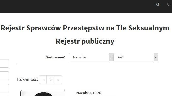 Rejestr pedofilów i gwałcicieli. Przestępcy seksualni z województwa śląskiego ujawnieni. Przeglądaj kolejne slajdyREJESTR PEDOFILÓW I GWAŁCICIELI WG