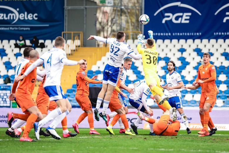 PGE Stal Mielec mogła w znacznie lepszych humorach kończyć mecz z Zagłębiem Lubin, ale była bardzo nieskuteczna i przegrała 0:2. Oceniliśmy piłkarzy