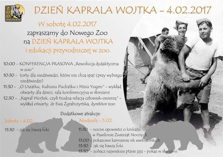 Dzień Kaprala Wojtka w zoo. Cisna i Baloo rozpakowali prezenty! [ZDJĘCIA]