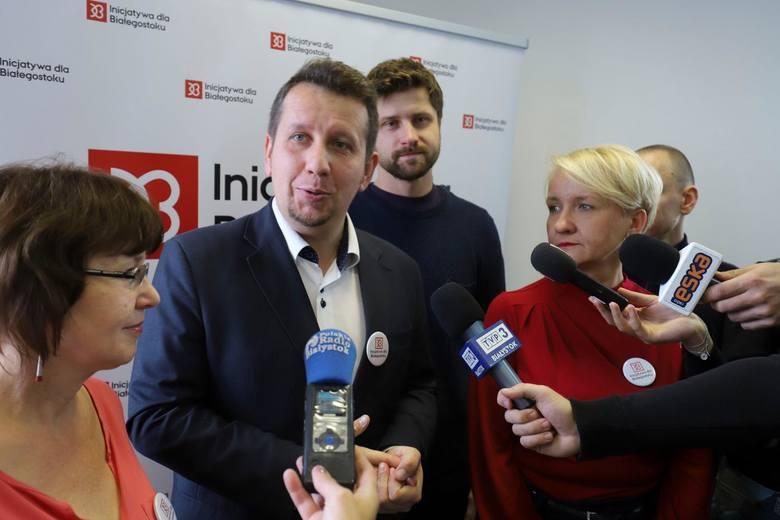 Radosław Puśko w wyborach samorządowych startował z list Inicjatywy dla Białegostoku. Teraz został dyrektorem biura posła Roberta Tyszkiewicza