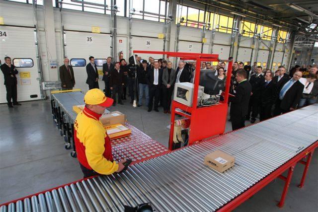 Zobacz otwarcie nowego terminala DHL w Kielcach