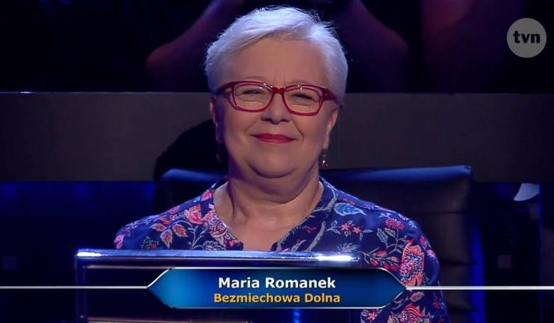 Maria Romanek wygrała teleturniej Milionerzy