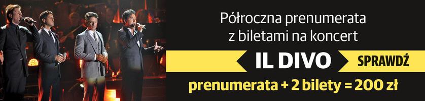 Bilety na Il Divo w prezencie!