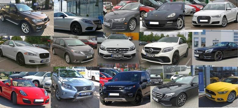 Przedstawiamy 20 najdroższych używanych samochodów na sprzedaż z Białegostoku i okolicy. Najwięcej jest Mercedesów, ale są też Jaguar, BMW, Audi i inne.