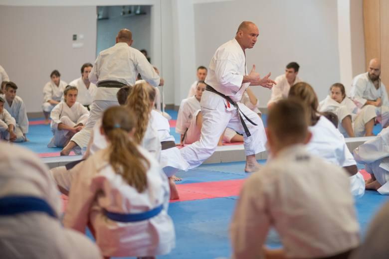 Były drużynowy mistrz świata szkolił krakowskich karateków