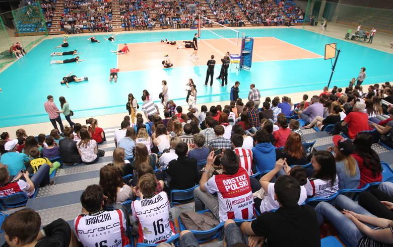 Tłumy kibiców podczas otwartego treningu Asseco Resovii [ZDJĘCIA]