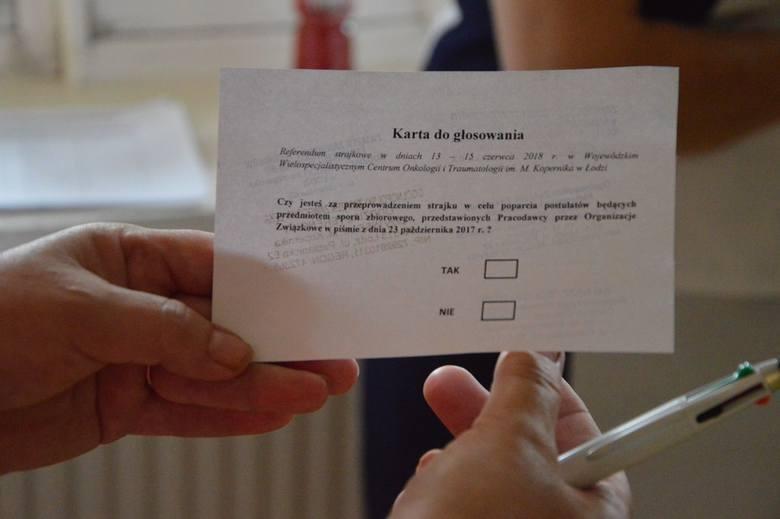 Pracownicy szpitala Kopernika w Łodzi chcą strajku