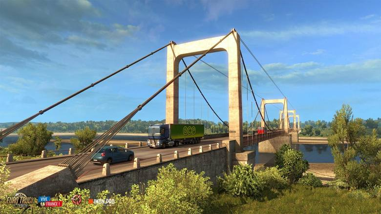 Euro Truck Simulator 2: Vive La France! Wyprawa do Francji (wideo)