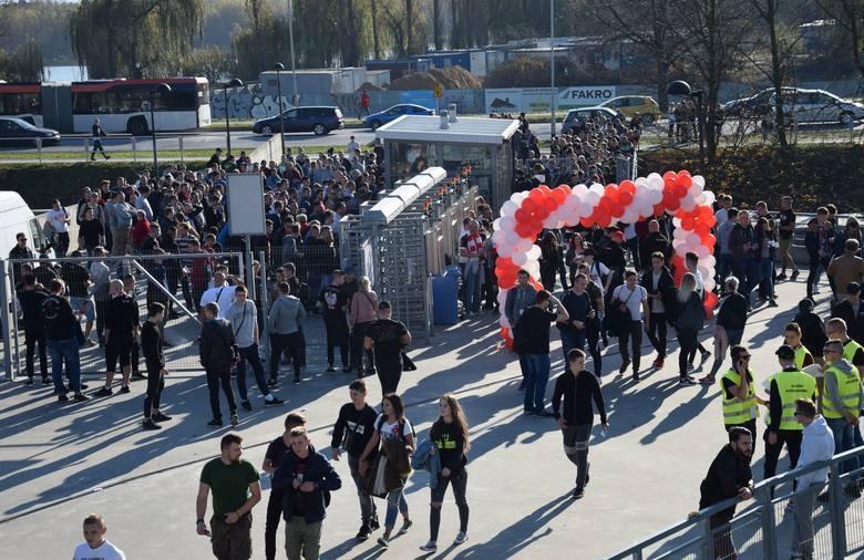 Jesienią najwięcej kibiców (ponad 4 tysiące) przyszło na mecz Apklan Resovii w Pucharze Polski z Lechią Gdańsk.