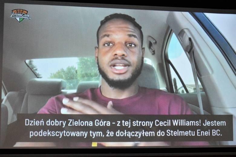 Cecil Williams, nowy zawodnik Stelmetu Enei BC Zielona Góra.