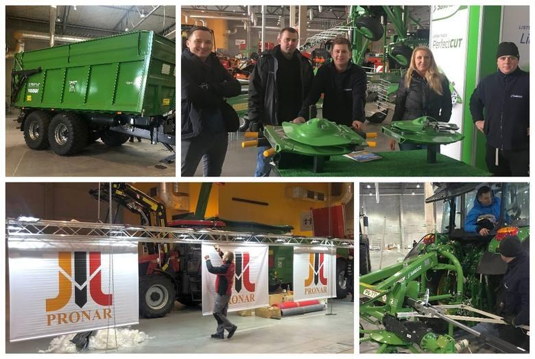 Podlascy producenci maszyn rolniczych i komunalnych - Pronar oraz SaMASZ - przygotowują swoje stoiska na targach Agro Show 2019 w Ostródzie, które odbędą