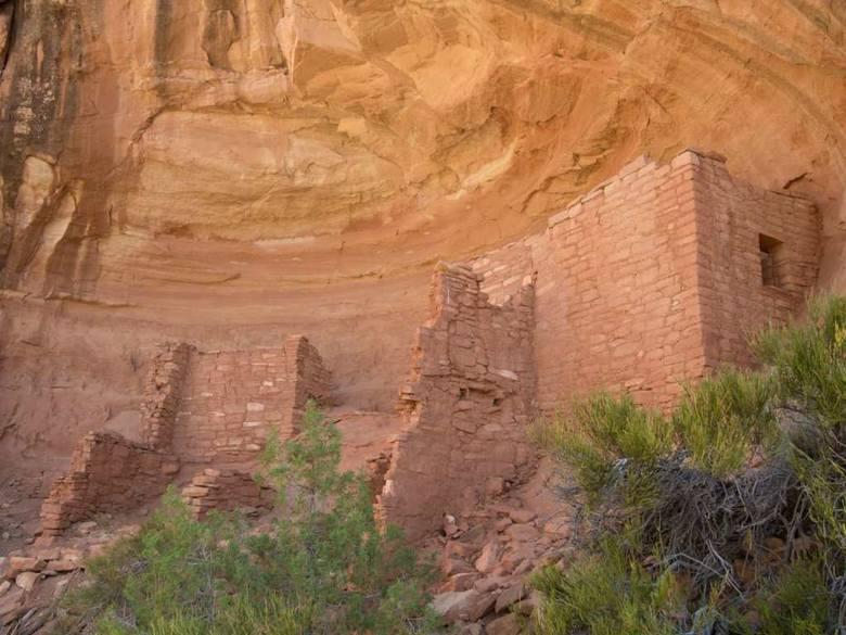 Sunny Alcove w Sand Canyon, jedna z czterdziestu osad prekolumbijskiej kultury Pueblo położonych w kilku kanionach Kolorado, badanych przez naukowców z UJ od 2011 roku