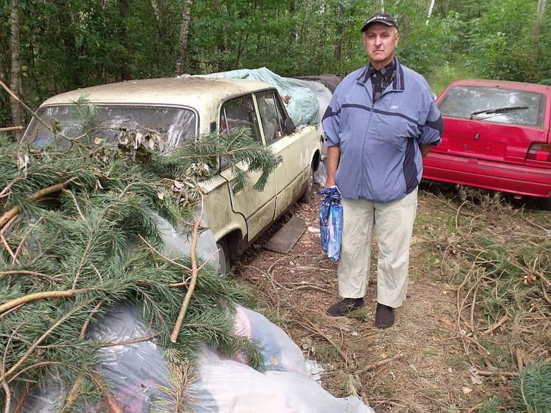 Kolekcjoner samochodów z Zabiela