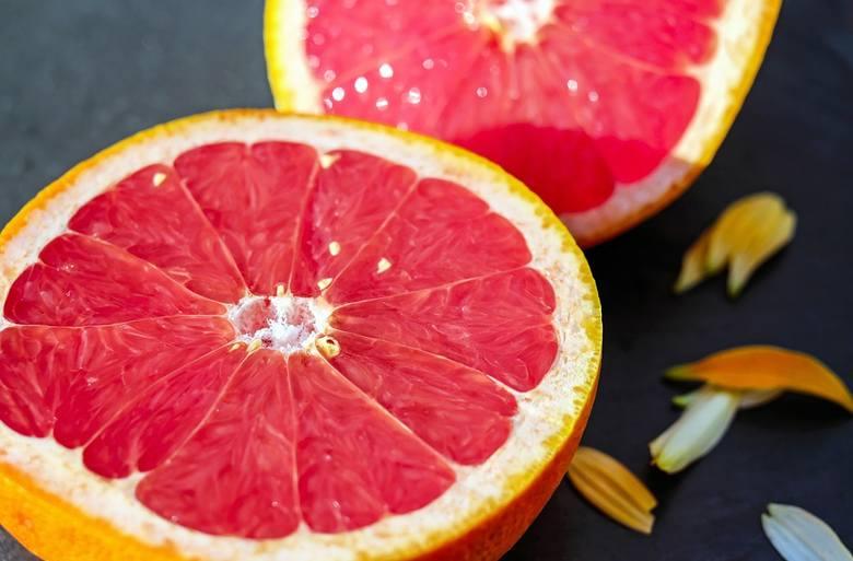 grejpfrut, grejpfrut czerwony, witamina c, owoc