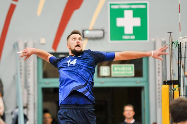 Artur Pasiński zanotował w meczu z SMS-em aż siedem asów serwisowych.