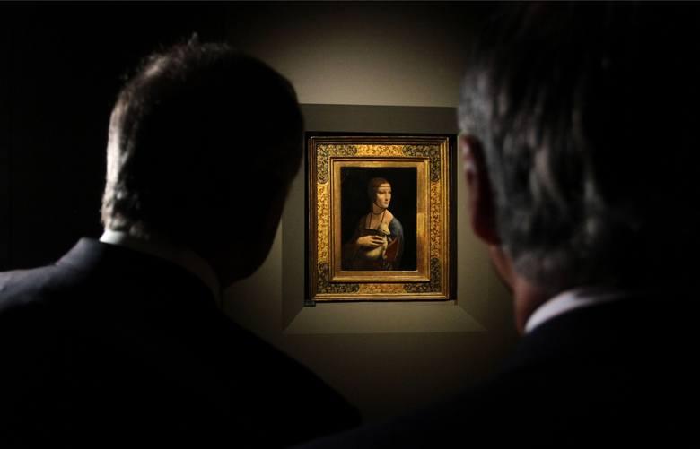 """""""Dama z łasiczką"""" Leonarda da Vinci to, obok zaginionego """"Młodzieńca"""" Rafaela  i """"Sądu ostatecznego"""" Hansa Memlinga najcenniejszy obraz z polskich kolekcji"""