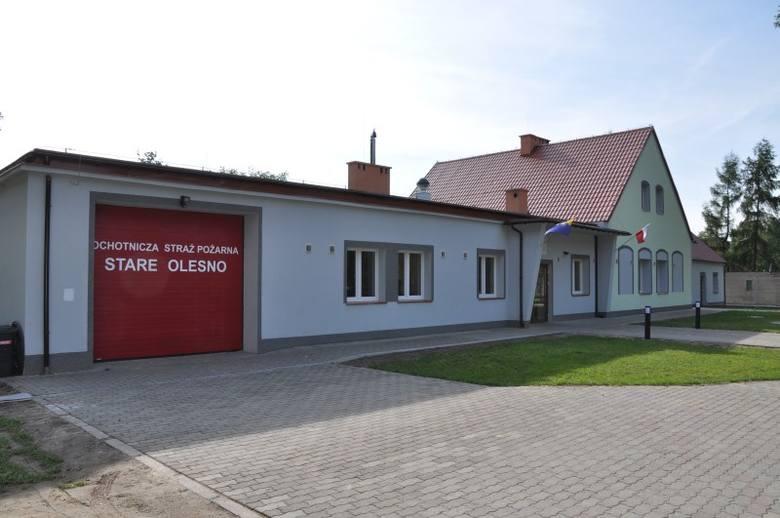 Gmina Olesno w ostatnich latach mocno inwestuje w remizy strażackie i świetlice wiejskie. Kolejnym wiejskim obiektem jest Wiejskie Centrum Kultury i