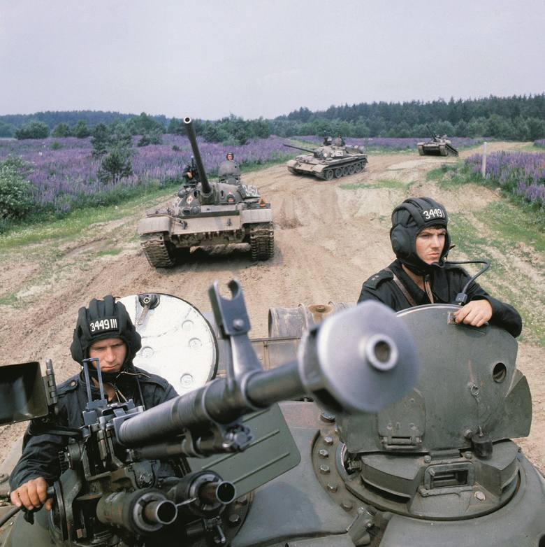"""Manewry """"Sojuz '81"""" wojsk Układu Warszawskiego na terenie Polski, 1981 r."""