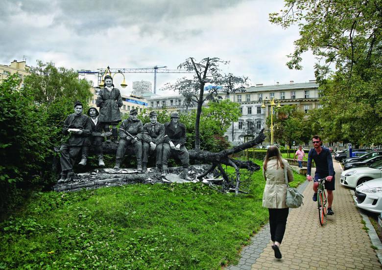 Powstanie Warszawskie: Historyczne zdjęcia wkomponowane w obraz współczesnej Warszawy. Niezwykły projekt Marcina Dziedzica i Michała Wójcika