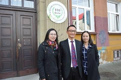 Nowy Sącz: Chińczycy w II LO [ZDJĘCIA]