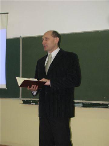 Wykład Radosława Waleszczaka w Krasnosielcu