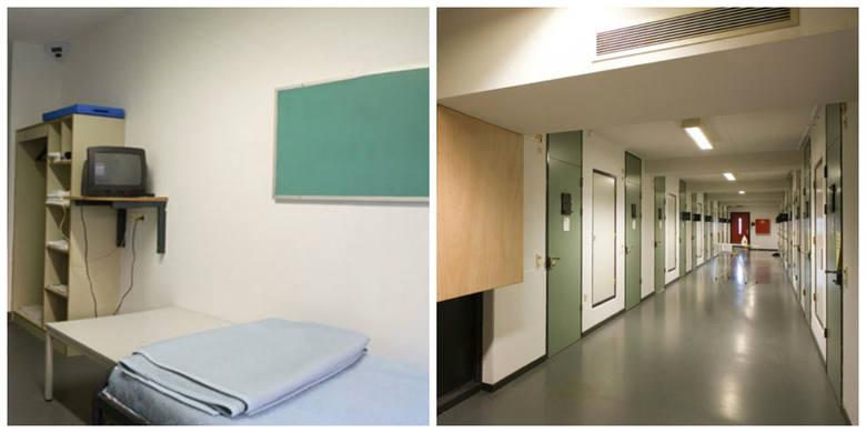 UN Detention Unit, Outside The Hague, HolandiaW tym więzieniu panuje doskonały porządek. Nic dziwnego, to placówka zarządzana przez ONZ. Każda cela ma