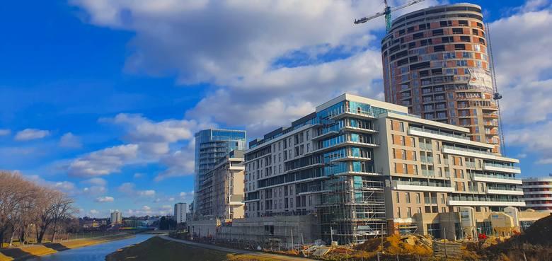 Capital Towers nad Wisłokiem