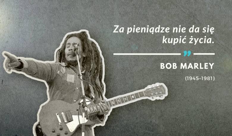 Ostatnie słowa wypowiedziane przez Boba Marleya 11 maja 1981 r.Bob Marley - wokalista z Jamajki, wykonawca muzyki reggae, w początkowym etapie kariery