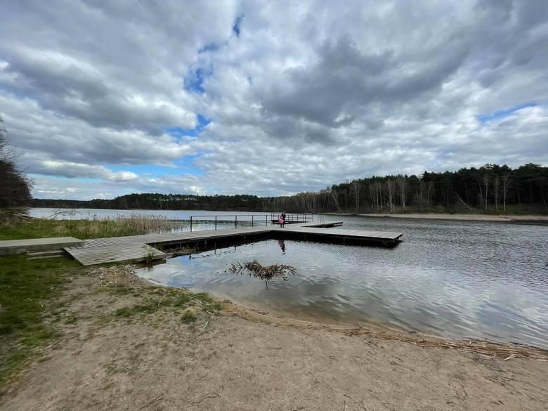 Jezioro Ciborze w Ciborzu (gmina Skąpe)