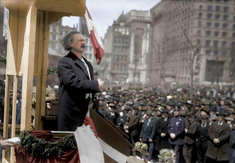 Ignacy Paderewski - od niego rozpoczęło się Powstanie, on też był najbardziej znanym na świecie orędownikiem sprawy polskiej