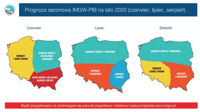 Prognoza na lato 2020. Jakie będą wakacje w Polsce? Długoterminowa prognoza pogody IMGW