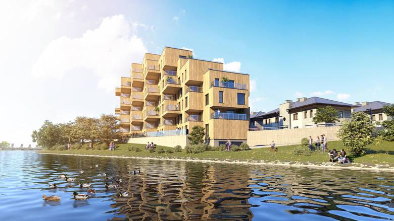 Budynek powstaje na niewielkiej działce położonej tuż nad brzegiem rzeszowskiego zalewu, bezpośrednio przy ścieżce pieszo-rowerowej. Architekci stworzyli projekt odwołujący się do skandynawskich wzorców. Jak go określają, jest raczej dopasowaniem się do naturalnego krajobrazu niż próbą jego...