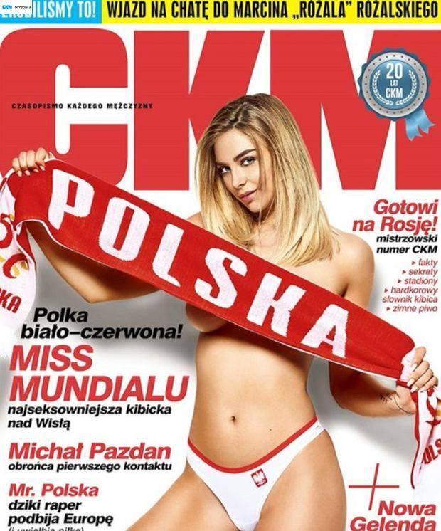 Natalia Siwiec była Miss Euro 2012. Teraz czekamy na Mundial 2018, ale miss piłkarskich rozgrywek  już mam. Została nią 19-letnia Marysia Hrobulewicz
