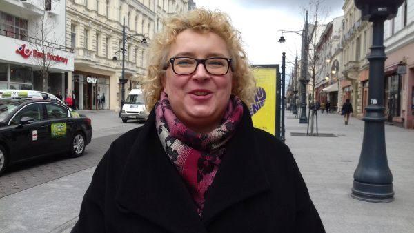 Małgorzata Ożegalska, zca dyr. Wydziału Gospodarki Komunalnej UMŁ