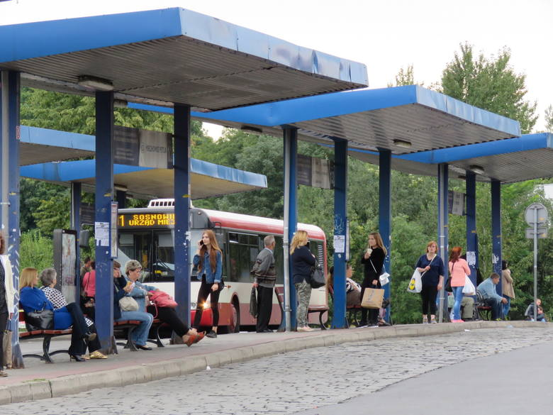 Dworzec autobusowy w Bytomiu