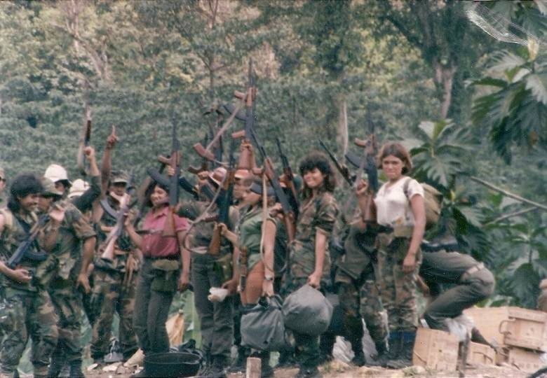 Contras w Nikaragui (1987 r.)